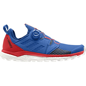adidas TERREX Agravic Boa Shoes Men blue beauty/core black/active red